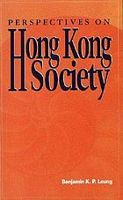 Perspectives on Hong Kong society