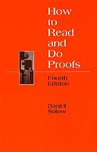 How to read and do proofs : an introduction to mathematical thought processes