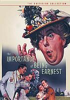 The importance of being earnest / an Anthony Asquith production.