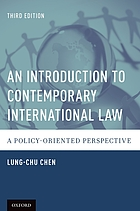 An Introduction to Contemporary International Law : a Policy-Oriented Perspective.