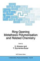 Ring opening metathesis polymerisation and related chemistry : state of the art and visions for the new century