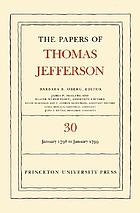 The papers of Thomas Jefferson. Vol. 30, 1 January 1798 to 31 January 1799
