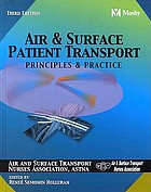 Air and surface patient transport : principles and practice