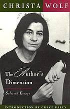 The author's dimension selected essays