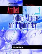 Applied college algebra and trigonometry