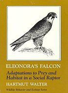 Eleonora's falcon : adaptations to prey and habitat in a social raptor
