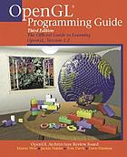 OpenGL programming guide : the official guide to learning OpenGL, version 1.2
