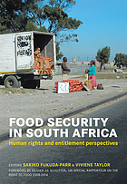 Food security in South Africa : human rights and entitlement perspectives