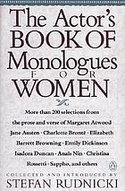 The Actor's book of monologues for women from non-dramatic sources
