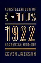 Constellation of genius : 1922 : modernism year one