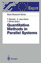 Quantitative methods in parallel systems