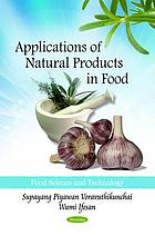 Applications of natural products in food