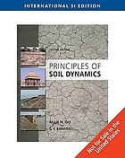 Principles of soil dynamics.