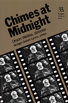 Chimes at midnight : Orson Welles, director