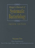 Bergey's manual of systematic bacteriology Vol. 2, The proteobacteria. Part C, The Alpha-, Beta-, Delta-, and Epsilonproteobacteria