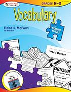 Vocabulary : grades K-3