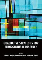Qualitative Strategies for Ethnocultural Research cover image