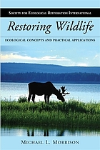 Restoring wildlife : ecological concepts and practical applications