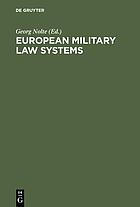 European military law systems