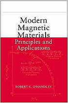 Modern magnetic materials : principles and applications