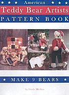 American teddy bear artists pattern book