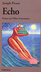 Echo : essays on other literatures
