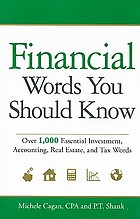 Financial words you should know : over 1,000 essential investment, accounting, real estate and tax words