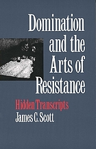 Domination and the arts of resistance : hidden transcripts