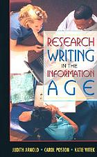 Research writing in the information age