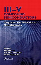 III-V compound semiconductors : integration with silicon-based microelectronics
