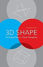 3D shape : its unique place in visual perception