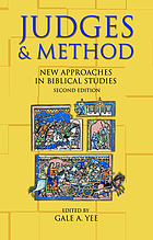 Judges & method : new approaches in biblical studies
