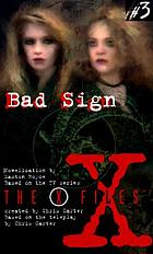 Bad sign : a novelization
