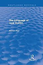 The language of Jane Austen
