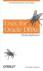 Unix for Oracle DBAs : pocket reference