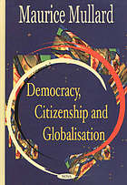 Democracy, citizenship and globalisation