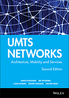 UMTS networks : architecture, mobility, and services