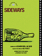 Sideways : the shooting script