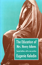 The education of Mrs. Henry Adams