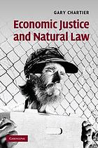 Economic Justice and Natural Law.