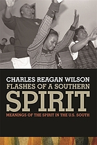 Flashes of a southern spirit : meanings of the spirit in the U.S. South