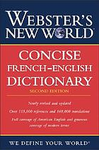 Webster's New World concise French dictionary.