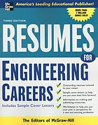 Resumes for engineering careers : with sample cover letters