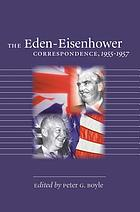 The Eden-Eisenhower correspondence, 1955-1957
