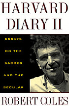 Harvard diary II : essays on the sacred and the secular