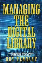 Managing the digital library
