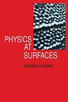 Physics at surfaces