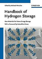 Handbook of hydrogen storage : new materials for future energy storage