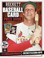 Beckett baseball card price guide. Number 35