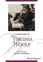 A companion to Virginia Woolf